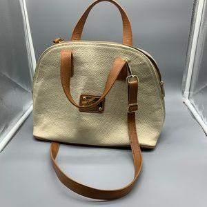 Valentina leather satchel